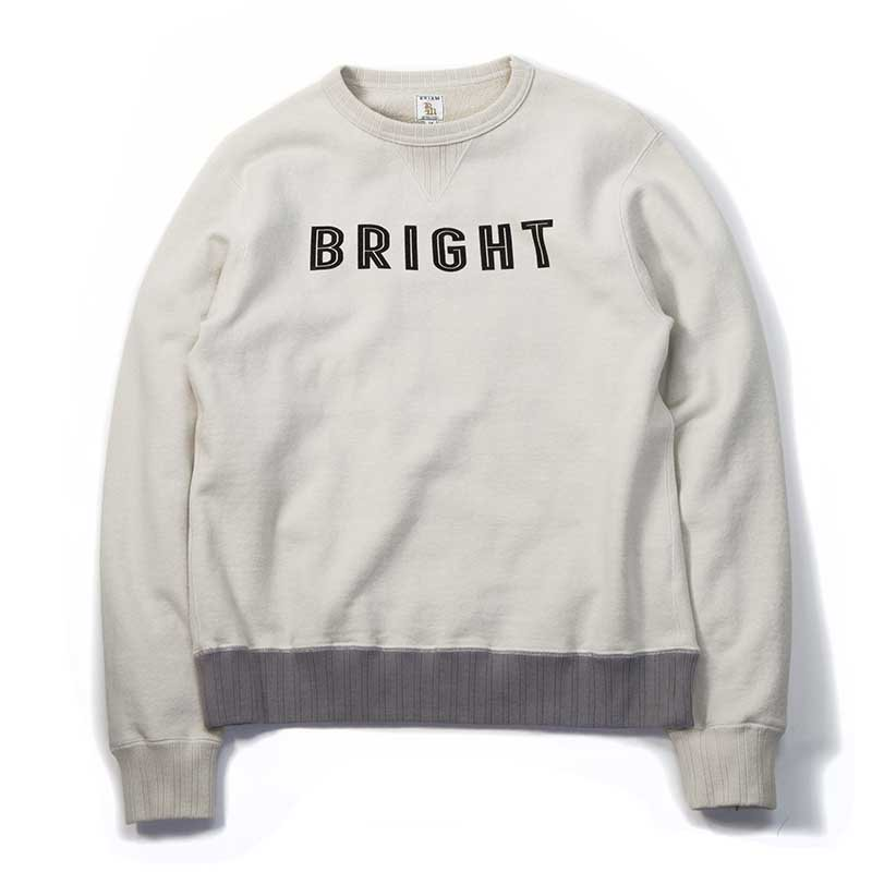 BRIAM MEANS Co.  BRIGHT Crewneck Sweat<img class='new_mark_img2' src='//img.shop-pro.jp/img/new/icons1.gif' style='border:none;display:inline;margin:0px;padding:0px;width:auto;' />