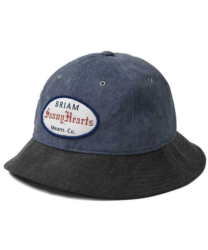 BRIAM MEANS Co.  SunnyHearts Wappen Hat<img class='new_mark_img2' src='//img.shop-pro.jp/img/new/icons18.gif' style='border:none;display:inline;margin:0px;padding:0px;width:auto;' />
