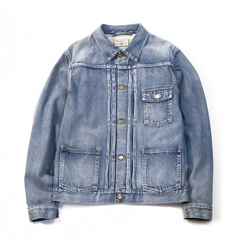 BRIAM MEANS Co.  BWR Denim Jacket Old<img class='new_mark_img2' src='//img.shop-pro.jp/img/new/icons20.gif' style='border:none;display:inline;margin:0px;padding:0px;width:auto;' />