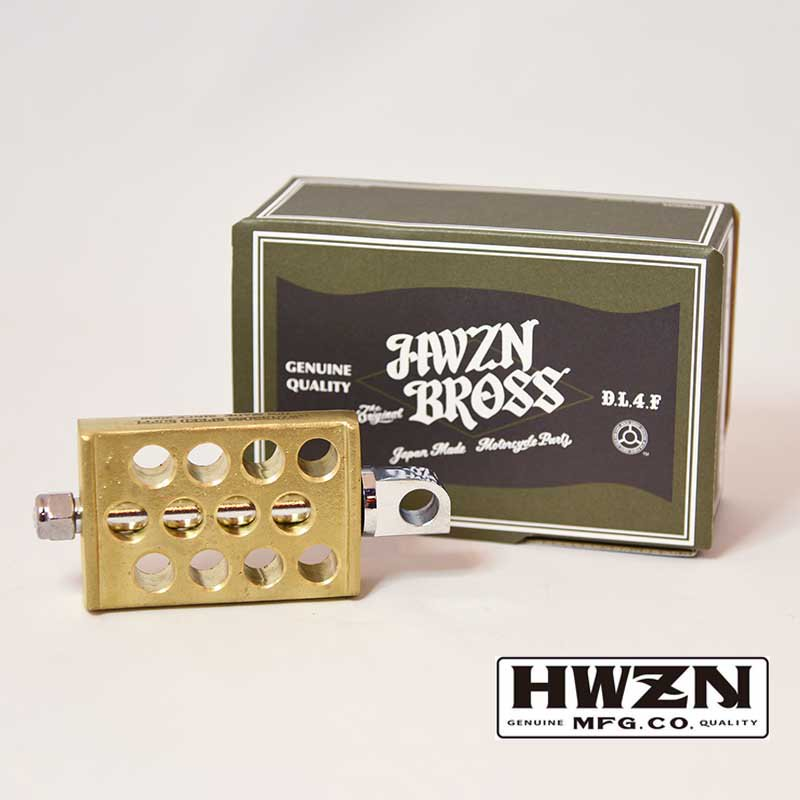 HWZN BROSS DRILLED KICKER BRASS