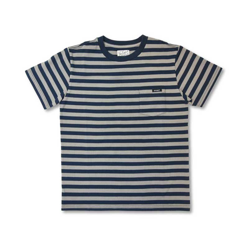 EVILACT Slim Border Pocket Tee S/S