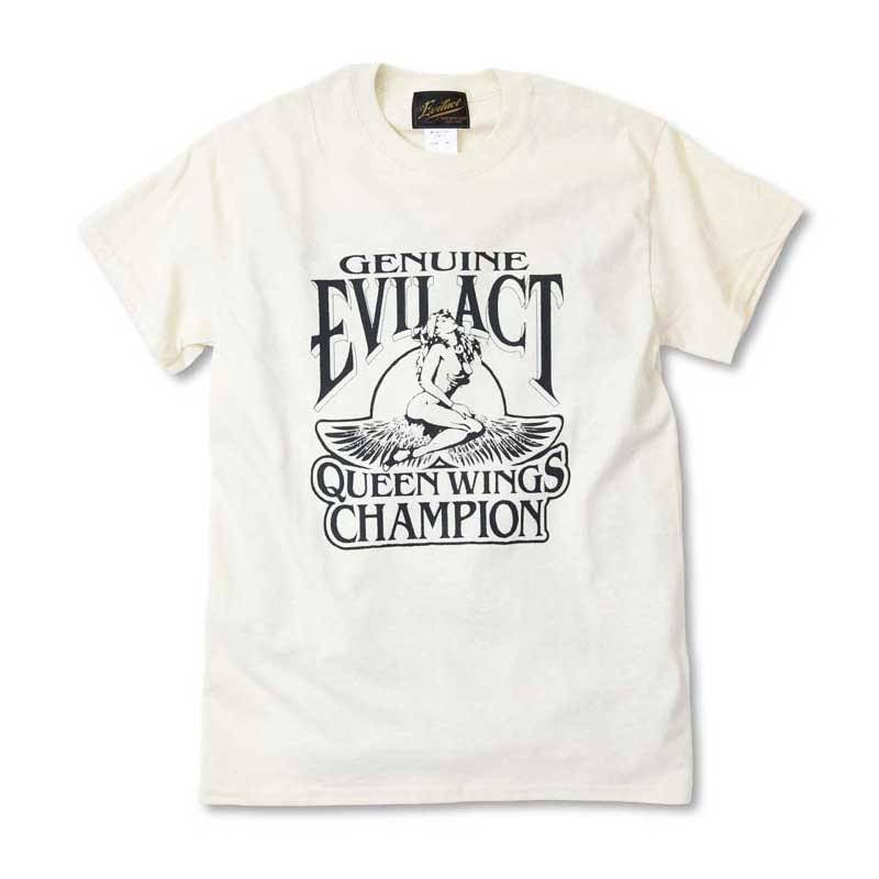 EVILACT QUEEN WINGS T's<img class='new_mark_img2' src='//img.shop-pro.jp/img/new/icons1.gif' style='border:none;display:inline;margin:0px;padding:0px;width:auto;' />