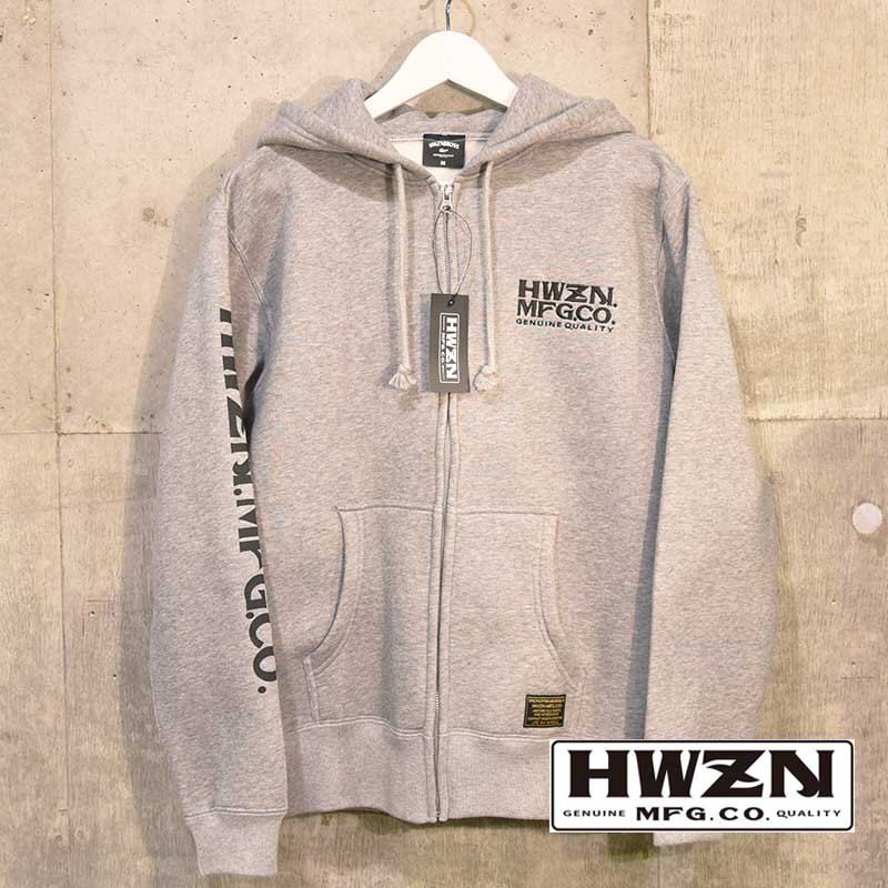 HWZN.MFG.CO. / HWZN MFG LOGO ZIP PARKA