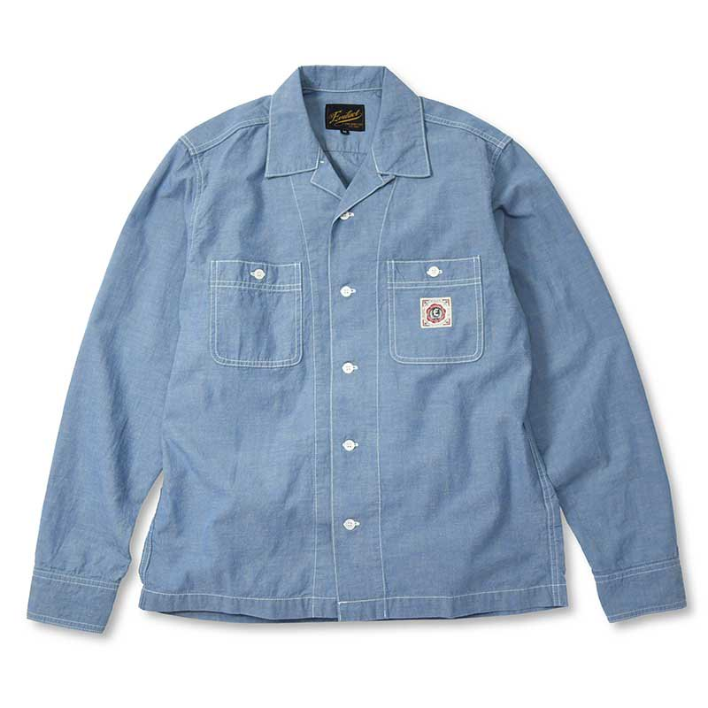 EVILACT Box Chambray Shirts