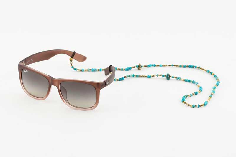 SunKu×EVILACT Turquoise Eyewear Holder