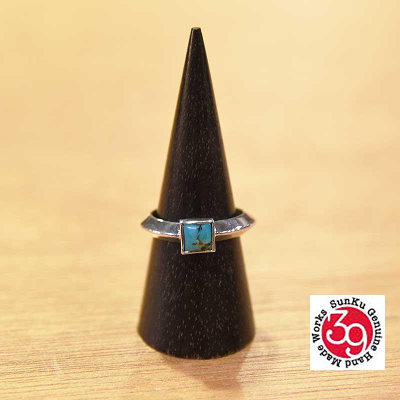 SunKu Triangle Ring / Turquoise