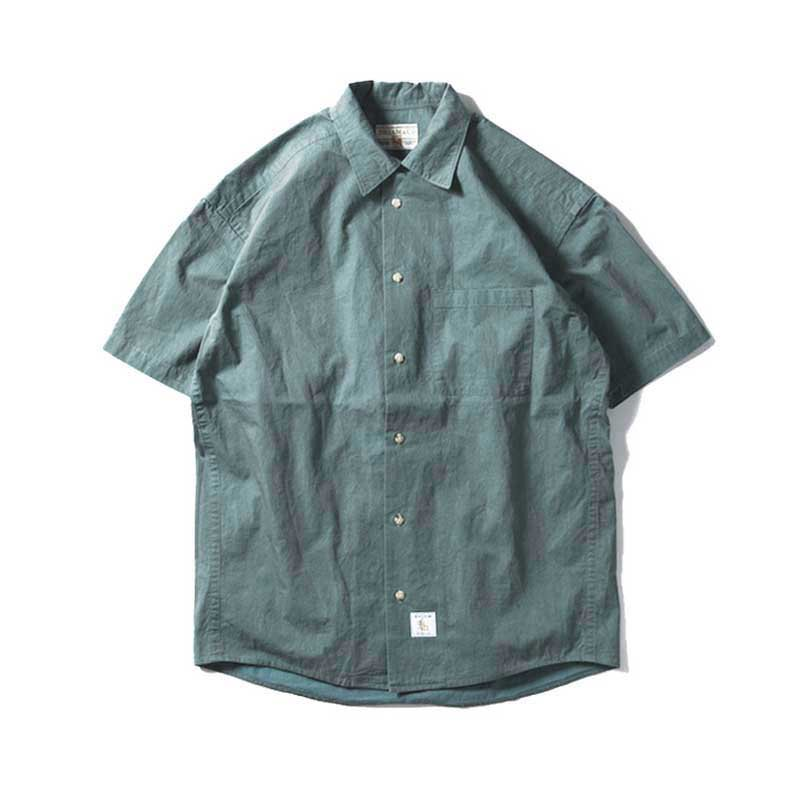 BRIAM MEANS Co.  C/N Herringbone Shirts SS<img class='new_mark_img2' src='//img.shop-pro.jp/img/new/icons1.gif' style='border:none;display:inline;margin:0px;padding:0px;width:auto;' />