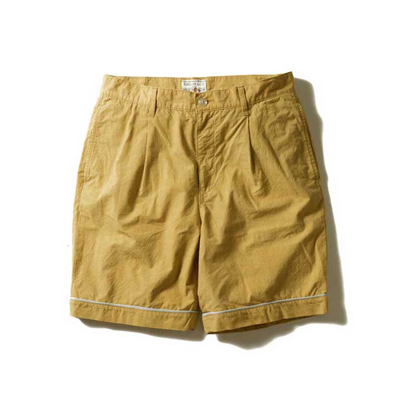 BRIAM MEANS Co.  P.B. One-Tuck Shorts<img class='new_mark_img2' src='//img.shop-pro.jp/img/new/icons1.gif' style='border:none;display:inline;margin:0px;padding:0px;width:auto;' />