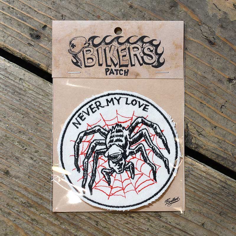 EVILACT Biker's Patch / NEVER MY LOVE