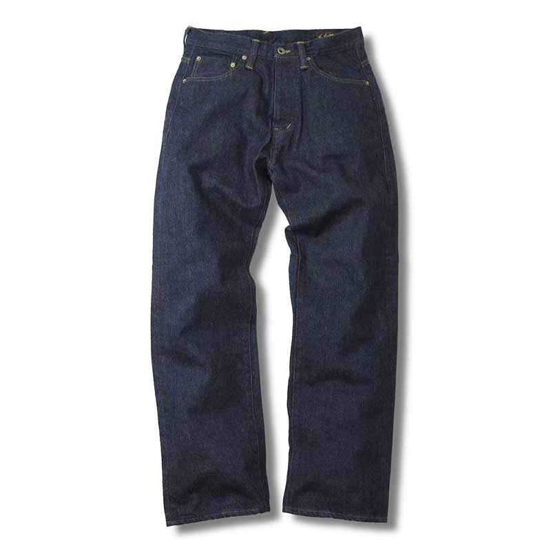 EVILACT  JP03 LOOSE STRAIGHT SELVEDGE JEANS