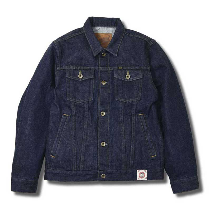 EVILACT MC Trucker Jacket / Indigo