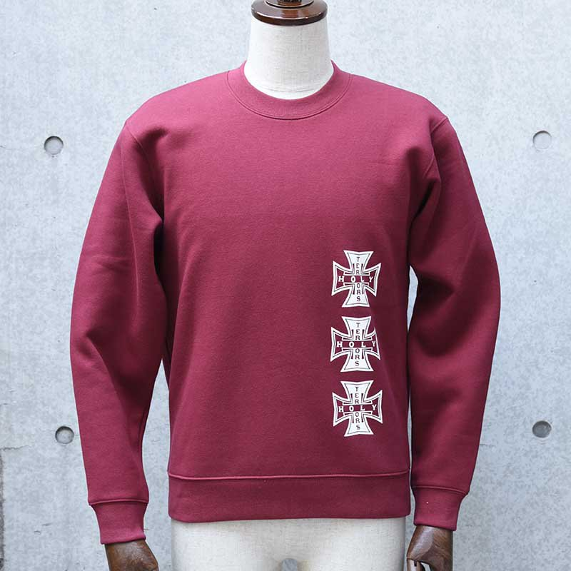 HOLY TERRORS HT Cross Crew Sweat