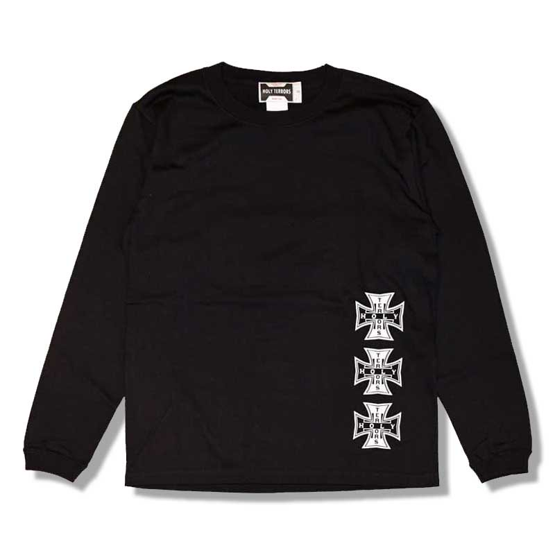HOLY TERRORS HT Cross LS Tee