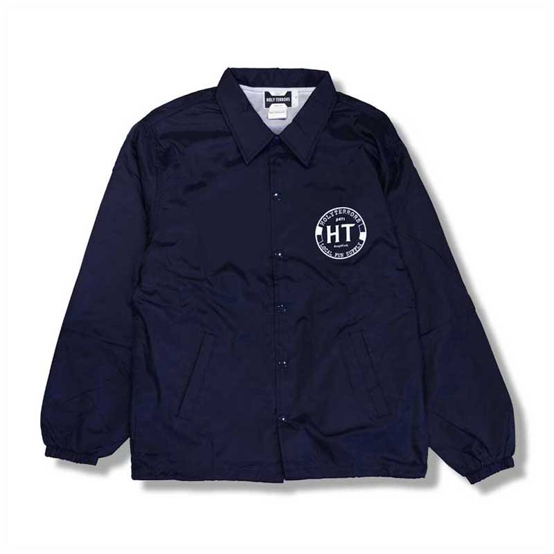 HOLY TERRORS Circle Logo Coach Jacket