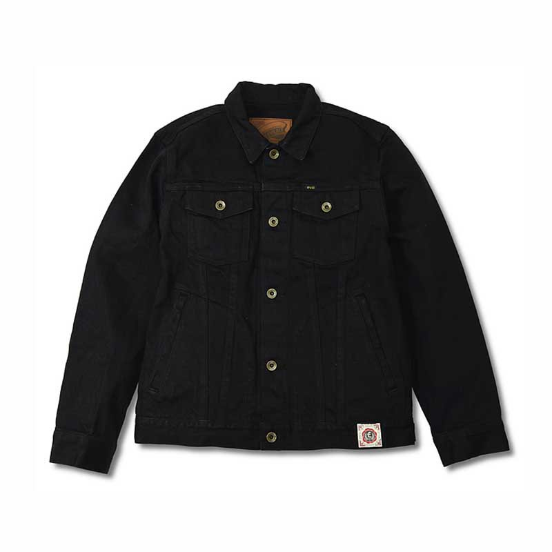 EVILACT MC Trucker Jacket / Black<img class='new_mark_img2' src='//img.shop-pro.jp/img/new/icons1.gif' style='border:none;display:inline;margin:0px;padding:0px;width:auto;' />