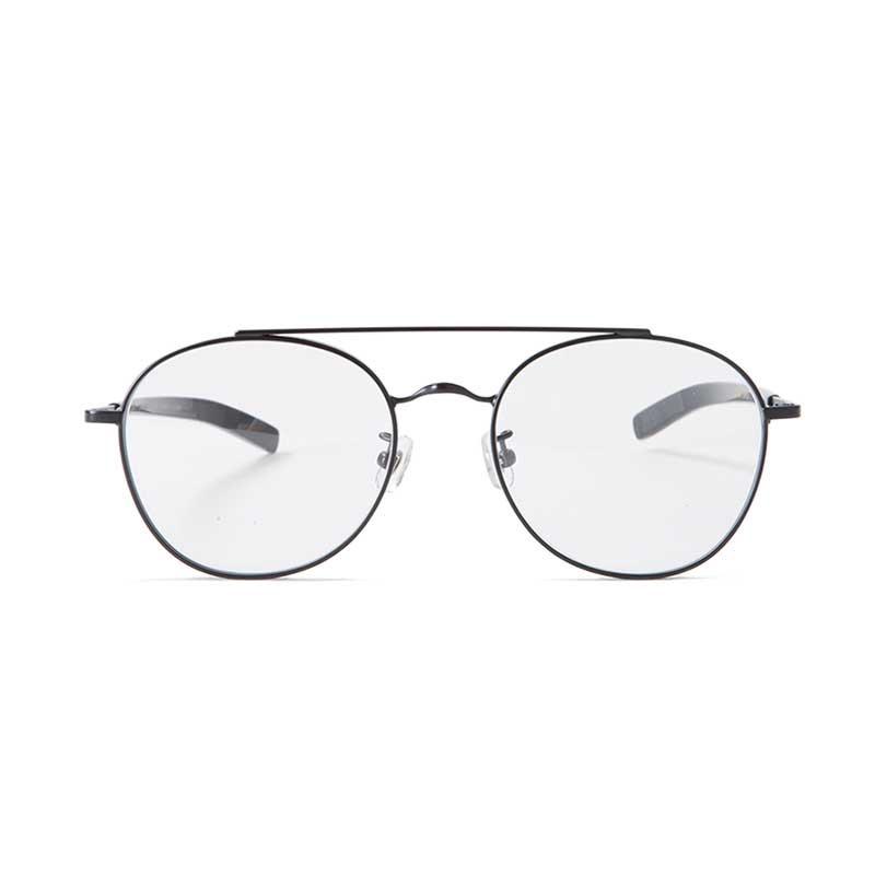 "EVILACT EYEWEAR ""VINCENT"" / black frame×dimming glass (調光グレー)"