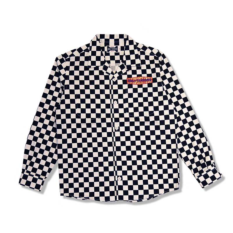 HOLY TERRORS Checker LS Shirts