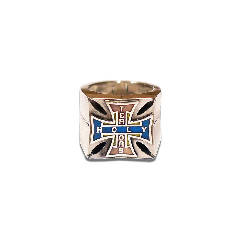 HOLY TERRORS HT Cross Ring
