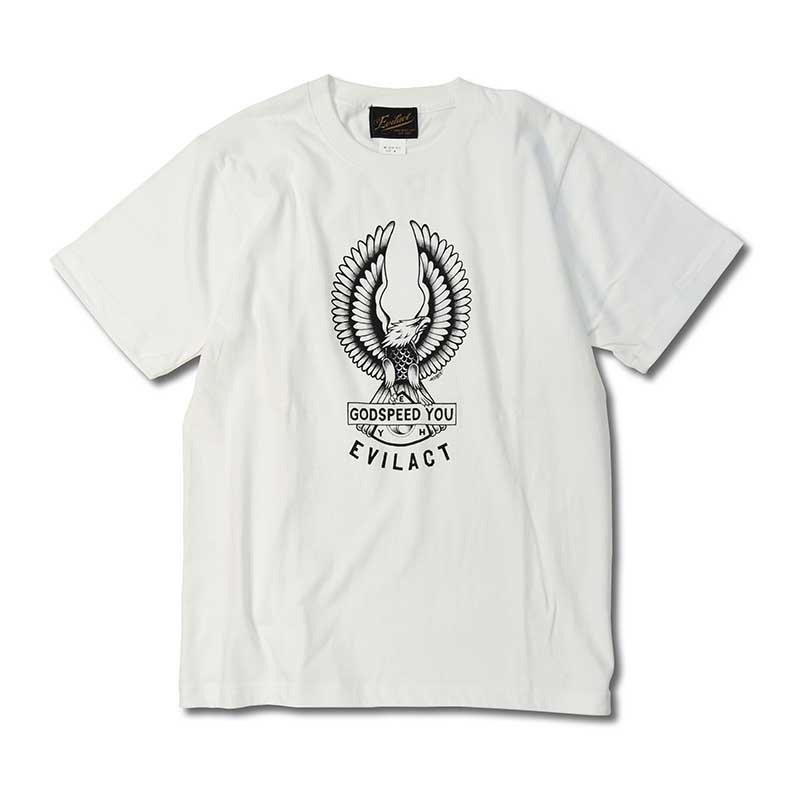 THUNDER ALLEY×EVILACT GOD SPEED YOU TEE