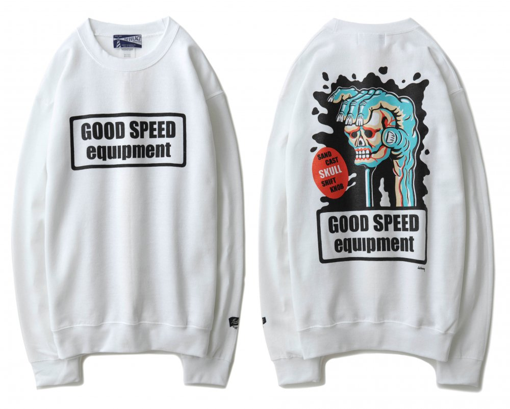 GOODSPEED equipment <br>Crew Neck Sweatshirts<br>Johnny's design