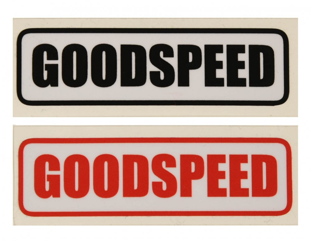 GOODSPEED equipment Logo Sticker #1