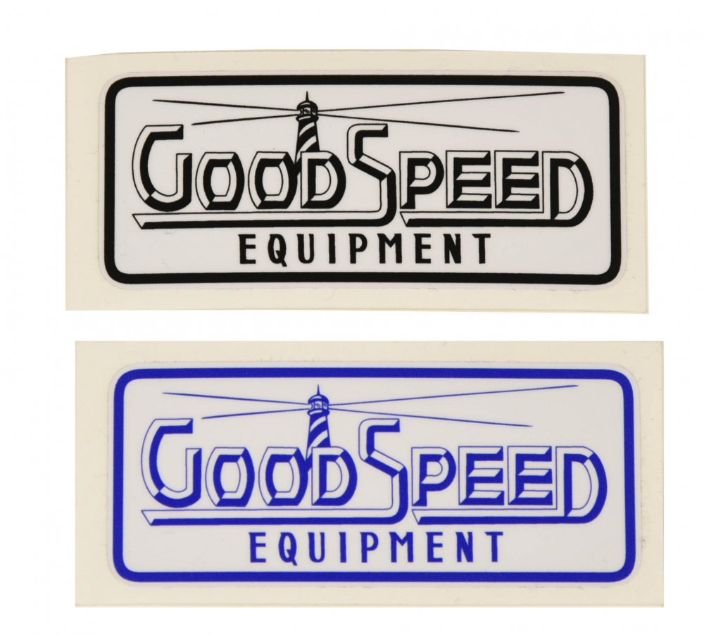 GOODSPEED equipment Logo Sticker #2