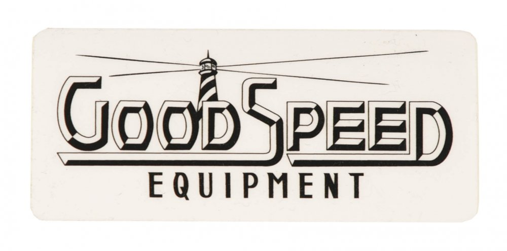 GOODSPEED equipment Logo Sticker #3