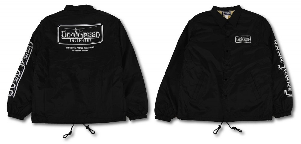 GOODSPEED equipment Logo Coach Jacket <br>(GSE18-WB08)