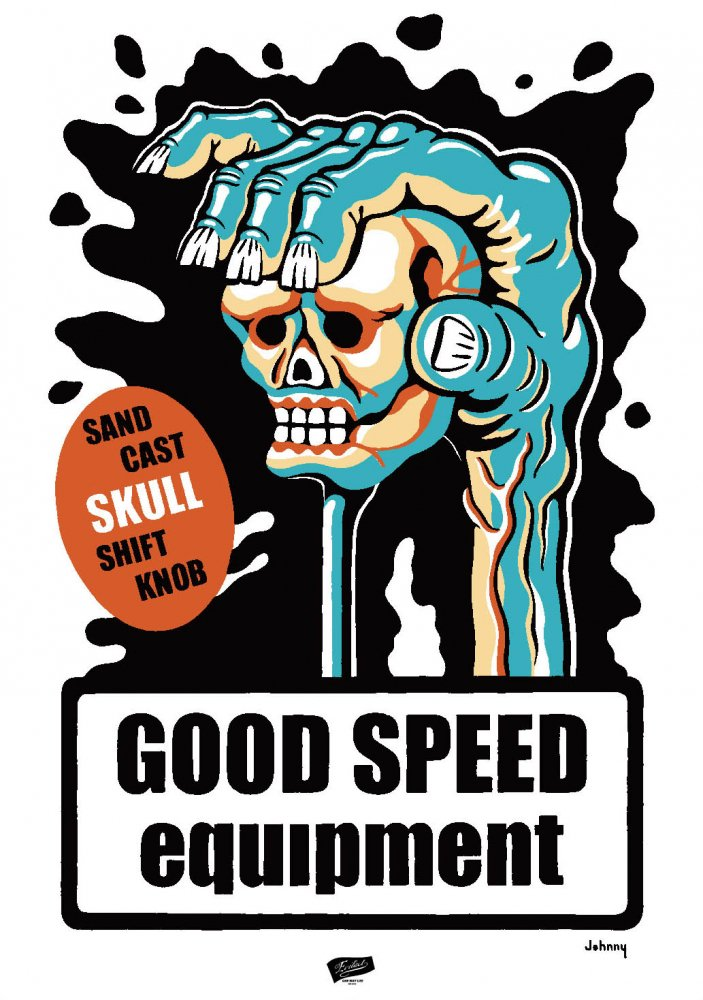 GOODSPEED equipment Poster Johnny's design