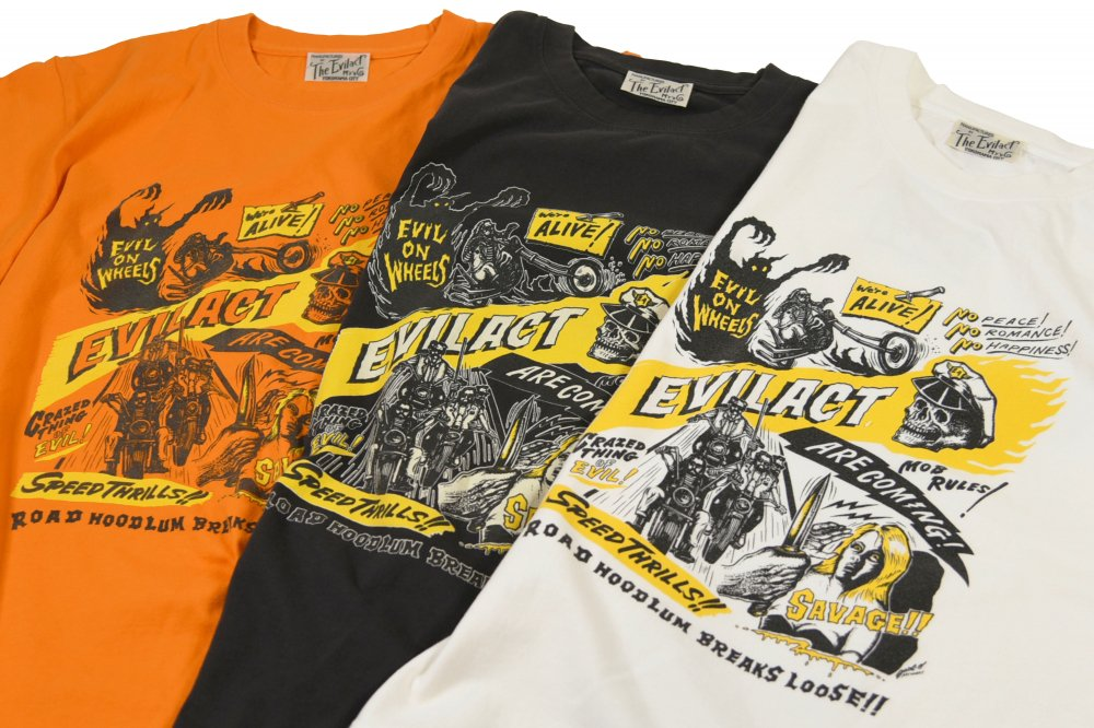 EVILACT EVIL ON WHEELS  S/S T's