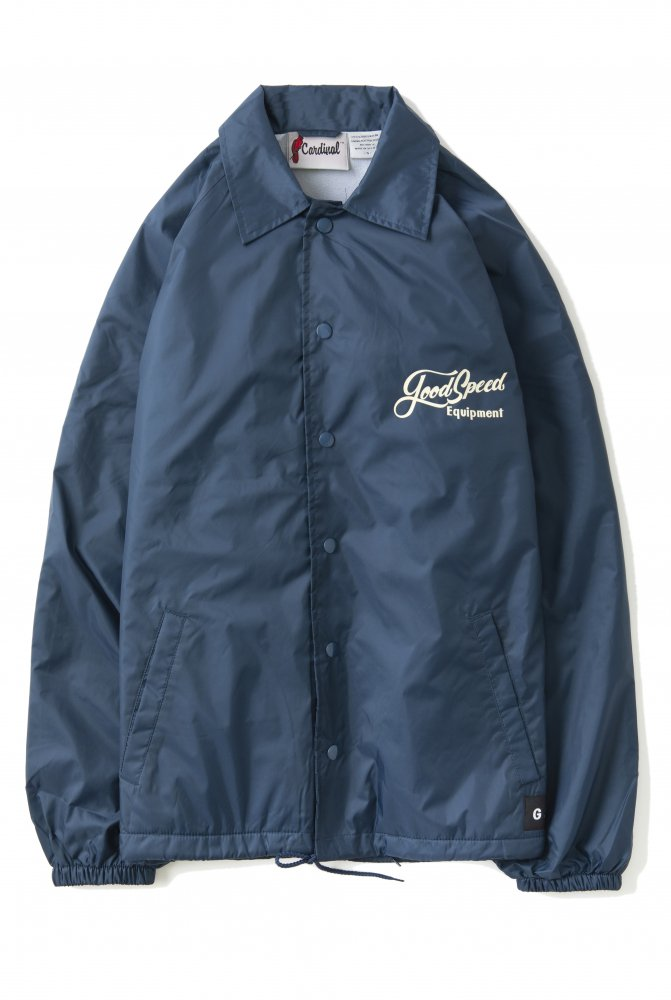 <img class='new_mark_img1' src='https://img.shop-pro.jp/img/new/icons1.gif' style='border:none;display:inline;margin:0px;padding:0px;width:auto;' />GOODSPEED equipment Lettering Logo Coach Jacket