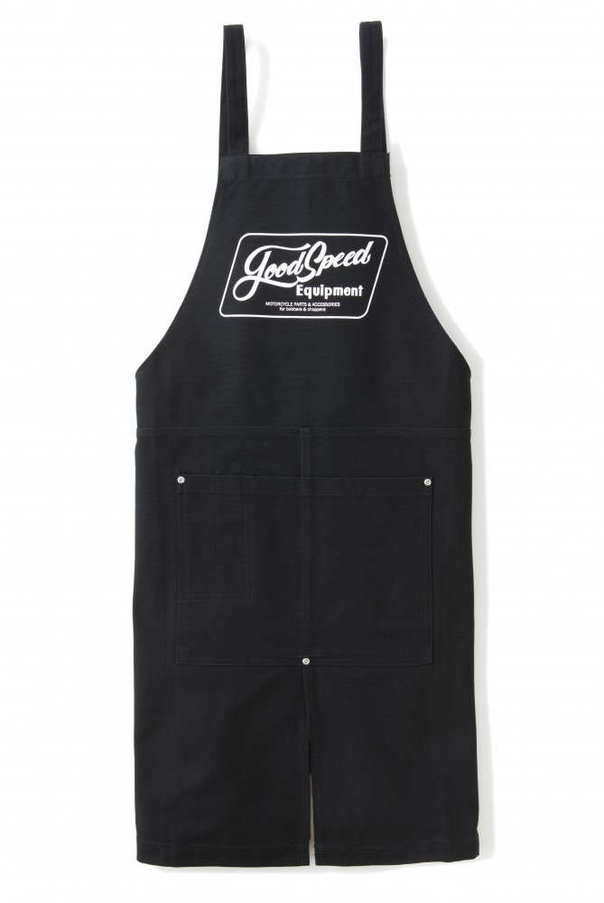 <img class='new_mark_img1' src='https://img.shop-pro.jp/img/new/icons1.gif' style='border:none;display:inline;margin:0px;padding:0px;width:auto;' />GOODSPEED equipment Lettering Logo apron