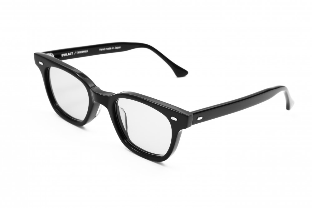 """HENDERSON""  black frame×dimming glass lens (調光グレー)"