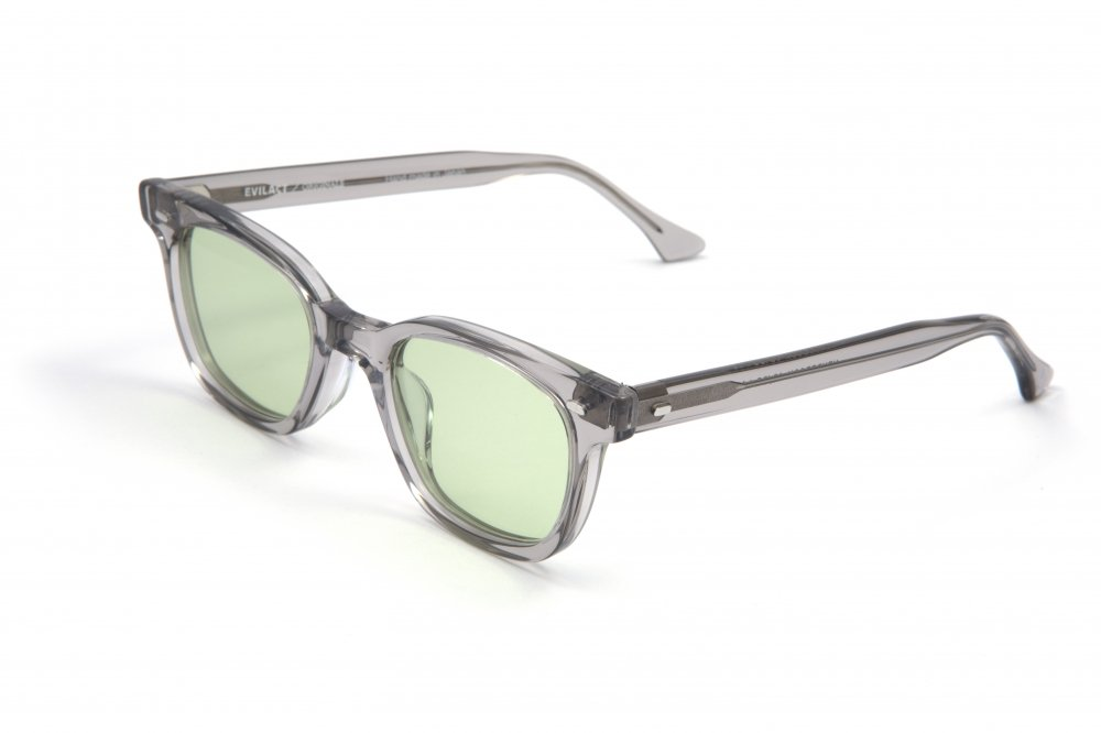 """HENDERSON""  gray clear frame×light green lens"