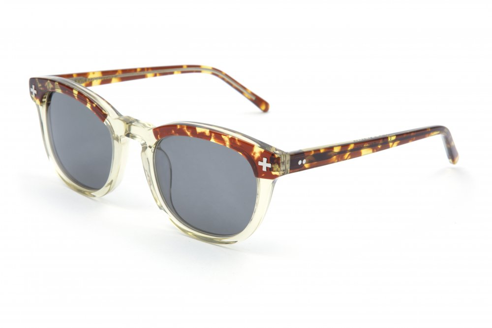 "<img class='new_mark_img1' src='https://img.shop-pro.jp/img/new/icons1.gif' style='border:none;display:inline;margin:0px;padding:0px;width:auto;' />""YALE �"" tortoiseshell×vintage clear frame / smoke lens"