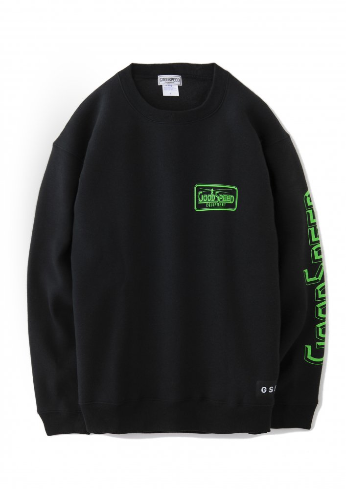<img class='new_mark_img1' src='https://img.shop-pro.jp/img/new/icons1.gif' style='border:none;display:inline;margin:0px;padding:0px;width:auto;' />GOODSPEED equipment Official Logo sweat shirts