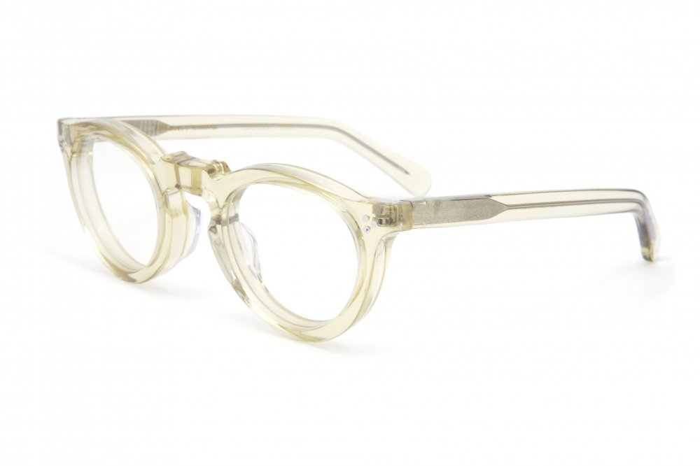 """GREEVES"" vintage clear frame / dimming lens"