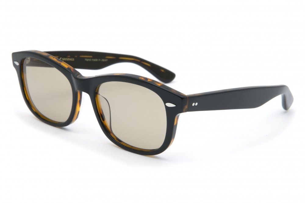 "<img class='new_mark_img1' src='https://img.shop-pro.jp/img/new/icons1.gif' style='border:none;display:inline;margin:0px;padding:0px;width:auto;' />""CYCLONE"" black×havana frame / brown lens"