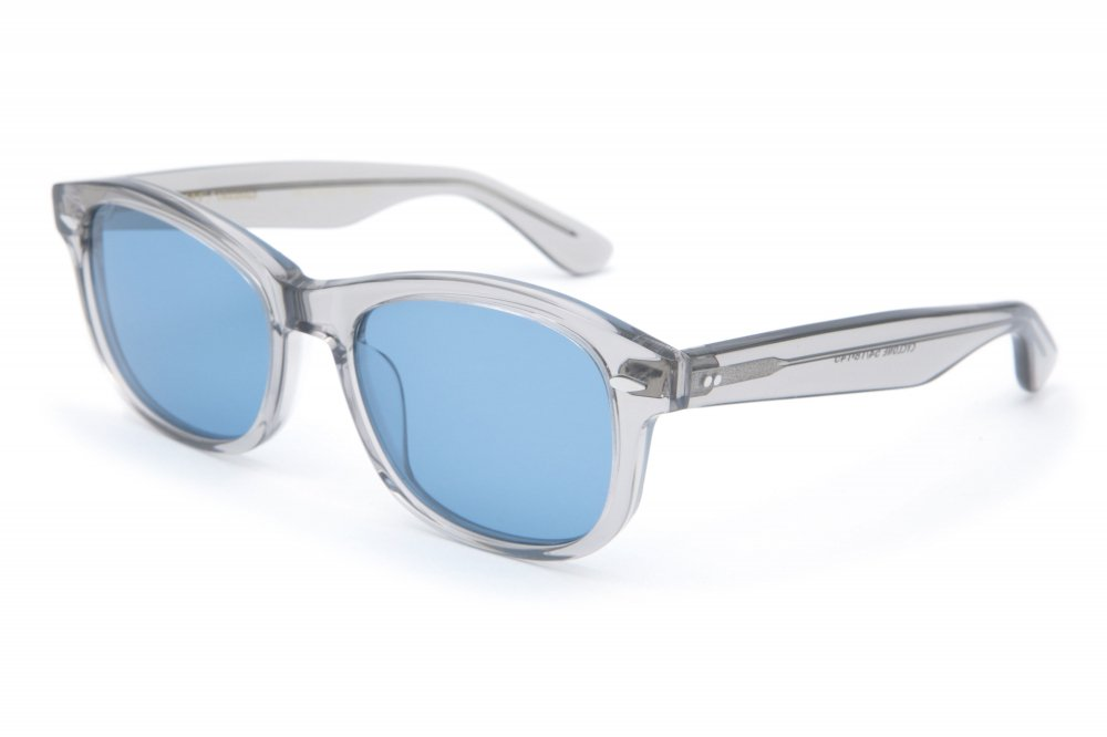 """CYCLONE"" gray clear frame / blue lens"