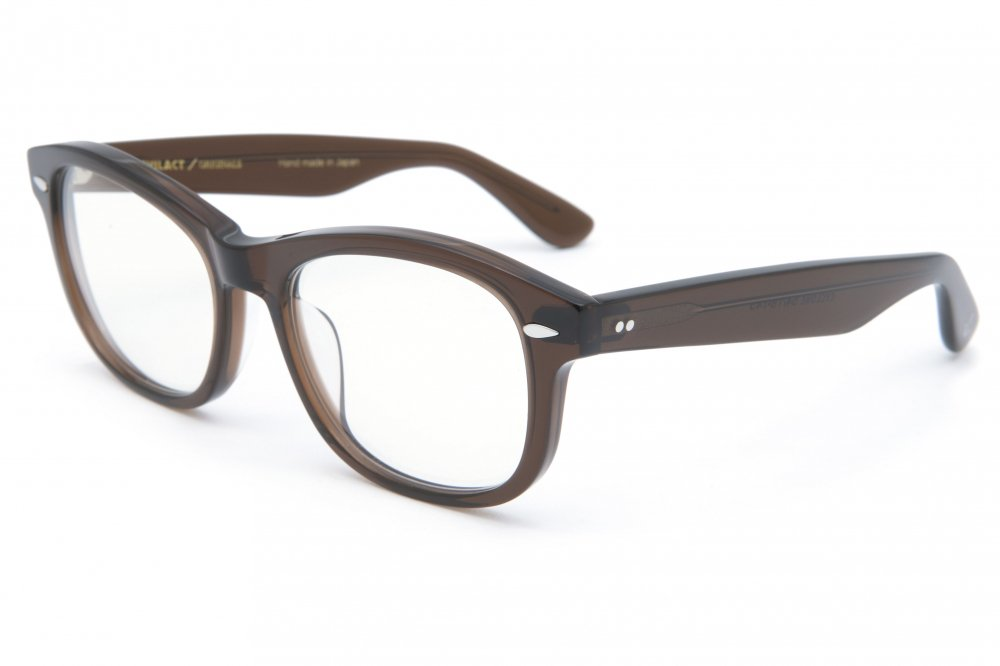 """CYCLONE"" brown clear frame / dimming lens"