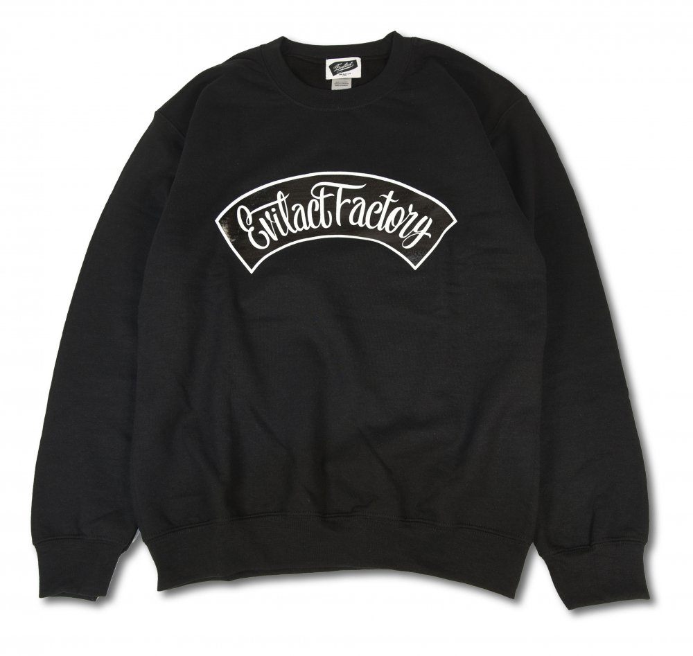 EVILACT FACTORY Crew Neck Sweat Shirts