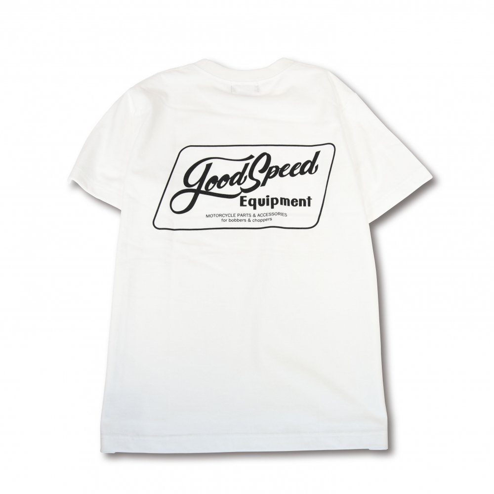 GOODSPEED equipment Lettering Logo S/S T's