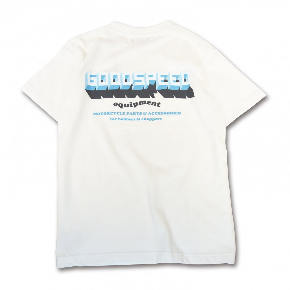 GOODSPEED equipment 3D Logo S/S T's