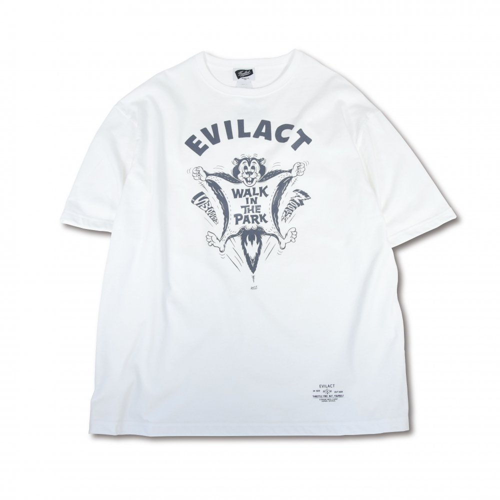 EVILACT Walk in The Park big silhouette T's S/S