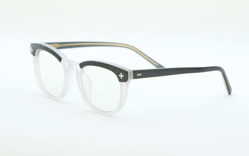 YALE � black×frost glass frame / dimming lens