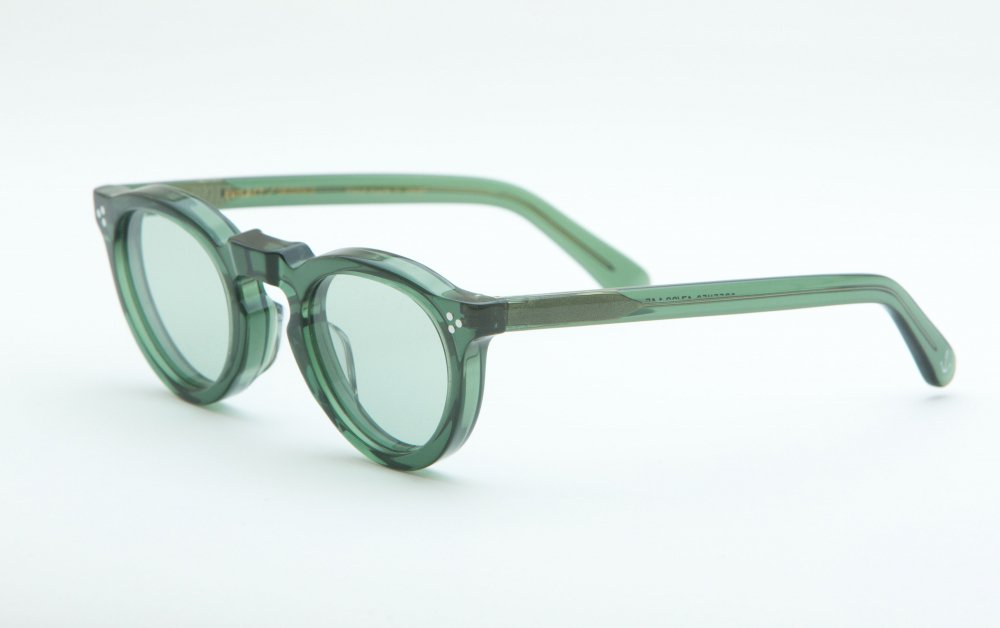 GREEVES ramune clear frame / green lens