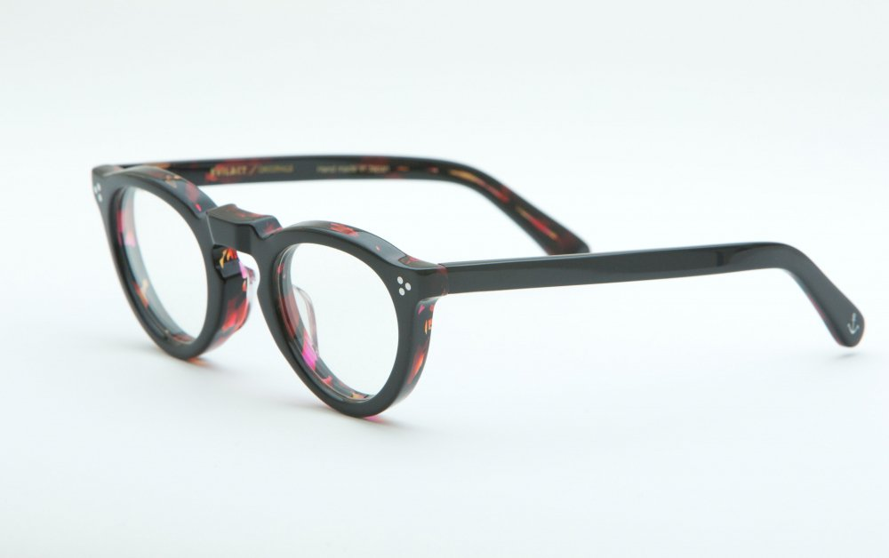 GREEVES black×red havana / dimming lens