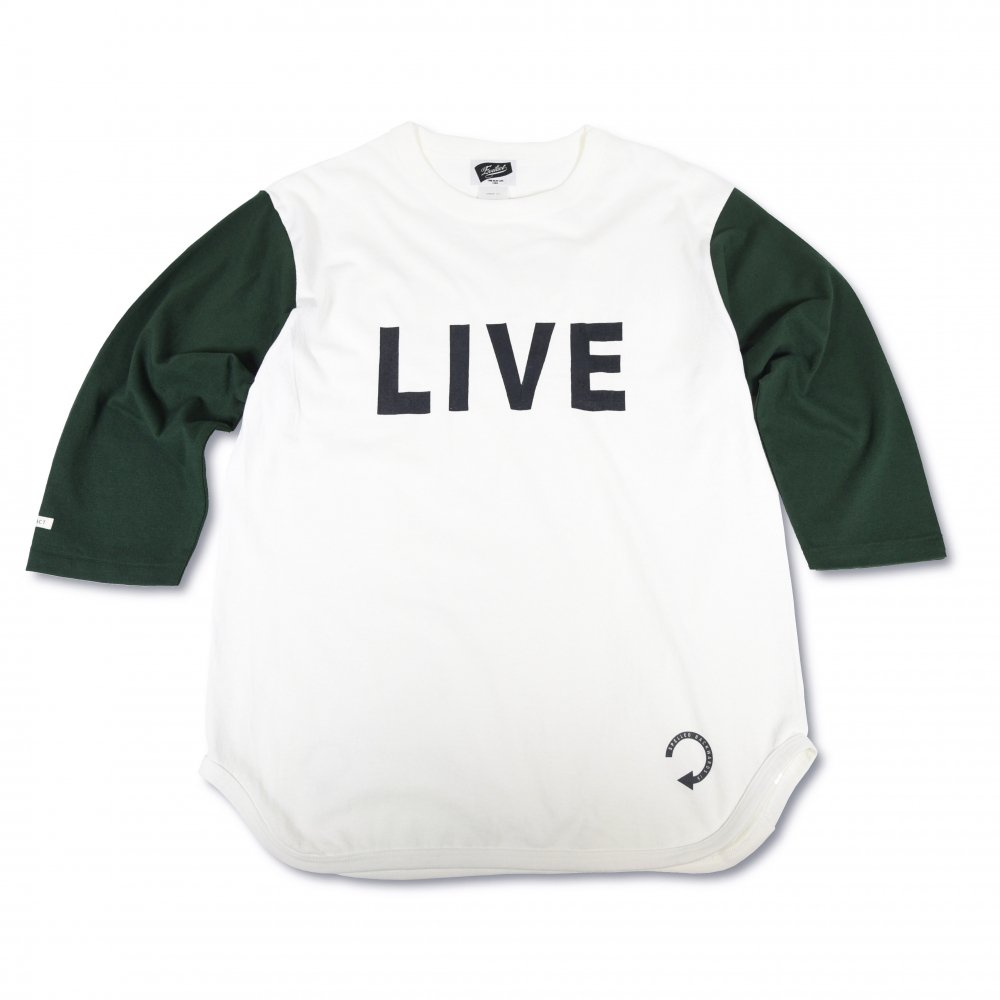 <img class='new_mark_img1' src='https://img.shop-pro.jp/img/new/icons1.gif' style='border:none;display:inline;margin:0px;padding:0px;width:auto;' />Backwards 3/4 sleeve Baseball T's  EVILACT ONLINE STORE限定