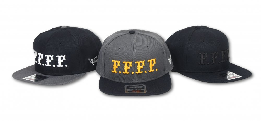 FXR JAPAN×EVILACT F.F.F.F Flat Visor cap