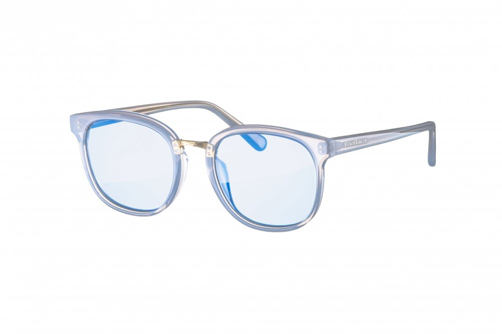 CROUCH frost glass / blue lens